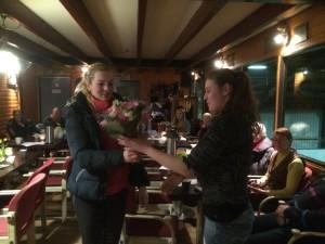 Stephanie Berends gehuldigd als kampioen